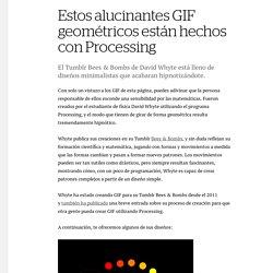 Estos alucinantes GIF geométricos están hechos con Processing - Creators