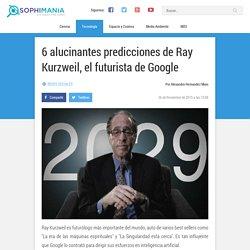 6 alucinantes predicciones de Ray Kurzweil, el futurista de Google