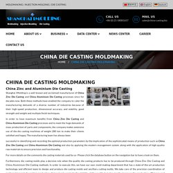China Aluminium and Zinc Die Casting Moldmaking in China