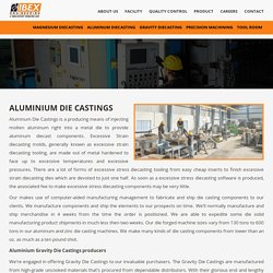 Aluminium Die Castings - Ibex Engineering