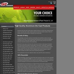 Aluminium heat sink and aluminium die cast manufactures