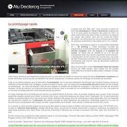 Fonderie d'aluminium Declercq : votre prototype en fonte d'aluminium coulée au sable (ou en titane ) disponible en quelques jours.