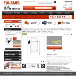 RIDEAU METALLIC LINE C-BOX FINTION ALUMINIUM , RIDEAUX DE CUISINE