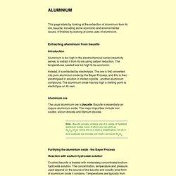 aluminium (US: aluminum)