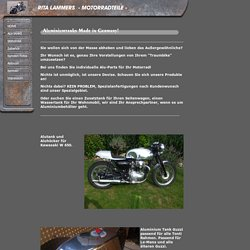 Aluminiumtanks Motorradtanks