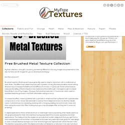 Brushed Metal Texture – 35+ Great Free Images From Aluminum and Steel through to Gold