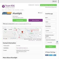 Alumlight - Team Member - R3G Team Member
