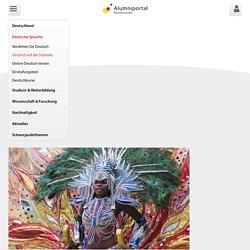 Online Deutsch lernen: Übungen Fasching - Alumniportal Deutschland