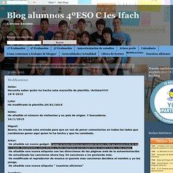 Blog alumnos 4ºESO C Ies Ifach: Modificaciones