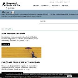 Alumnos - Universidad Camilo José Cela