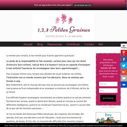 Se former avec Céline Alvarez gratuitement en ligne - 1,2,3 petites graines