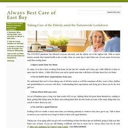 Elder Care Contra Costa County