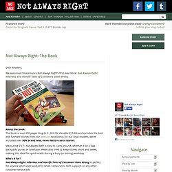 Not Always Right: The Book