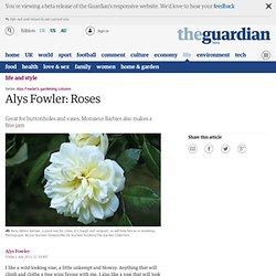 Alys Fowler: Roses