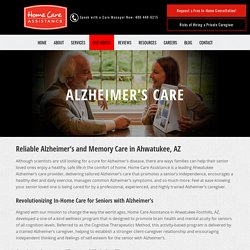 Alzheimer's Care Ahwatukee Seniors Can Count On