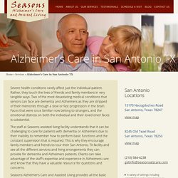 Enquire About Alzheimer's Assisted Living Facilities - Seasons Alzheimer's Care and Assisted Living