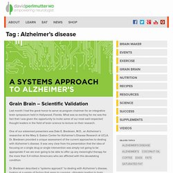 Alzheimer's disease Archives