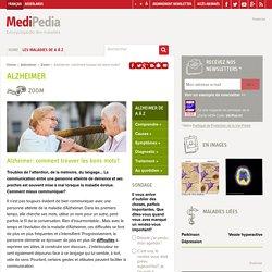 Alzheimer: comment trouver les bons mots?