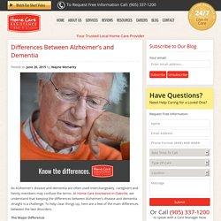 Alzheimer's Disease vs Dementia in Seniors