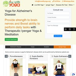 Yoga for Alzheimer's Disease