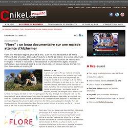 Alzheimer : Flore, un documentaire sur une malade atteinte d'Alzheimer