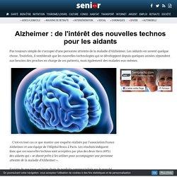Alzheimer : de l'intérêt des nouvelles technos pour les aidants - 14/12/16