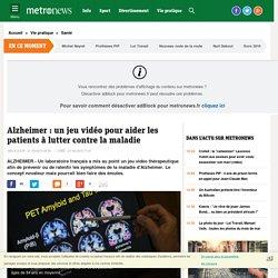 Alzheimer: un jeu vidéo pour aider les patients à lutter contre la maladie