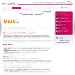 Département de la Mayenne - Maia