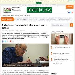 Alzheimer: comment déceler les premiers signes