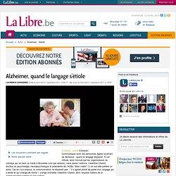 Alzheimer, quand le langage s'étiole