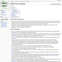 Alzheimer's Disease - Wikiwel : online digital library Resource for natural healing, home remedies in a wiki place.