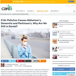 Does Air Pollution Cause Alzheimers Dementia Parkinsons