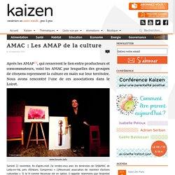 AMAC : Les AMAP de la culture