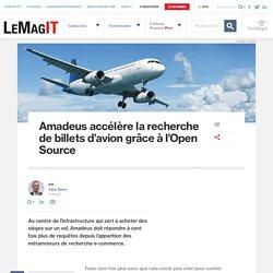 Amadeus accélère la recherche de billets d'avion grâce à l'Open Source