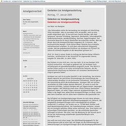 Amalgamverbot: Gedanken zur Amalgamausleitung