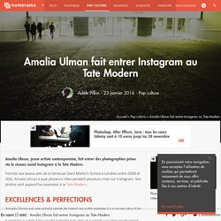 Amalia Ulman fait entrer Instagram au Tate Modern - Pop culture