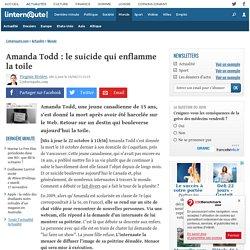 Amanda Todd : le suicide qui enflamme la toile - L'Internaute Actualite