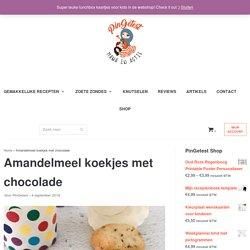 Amandelmeel koekjes met chocolade maken