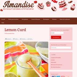 Les gourmandises d'Amandine