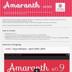 Amaranth Toolset