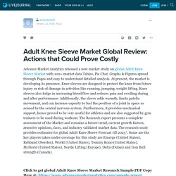 Adult Knee Sleeve Market Global Review: Actions that Could Prove Costly: amaresearch — LiveJournal