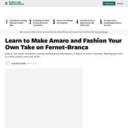 How to Make Amaro