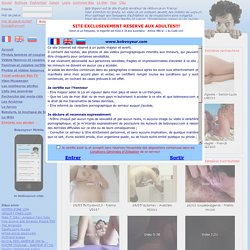 Bob Voyeur France, and exhib amateur free adult website libertine. Exhibition of photos, videos and webcam chat.