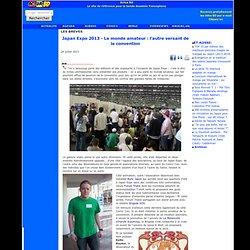 Japan Expo 2013 - Le monde amateur : l'autre versant de la convention