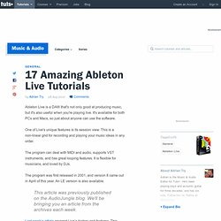 17 Amazing Ableton Live Tutorials
