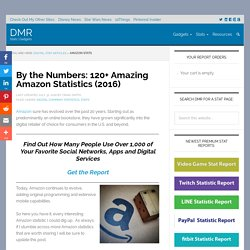 120 Amazing Amazon Statistics (July 2016) (AMZN)