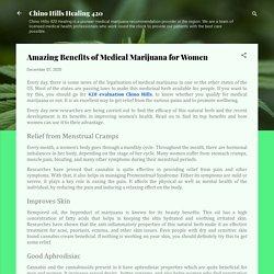 Amazing Benefits of Medical Marijuana for Women