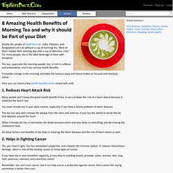 8 Amazing Health Benefits of Morning Tea and why it should be Part of your Diet