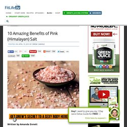 10 Amazing Benefits Of Pink Salt