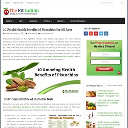 10 Amazing Health Benefits of Pistachios You Cannot Ignore